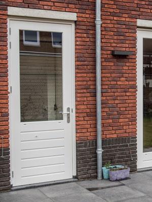 Houten achterdeuren